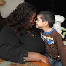 Foster mother becomes boy's 'forever' mommy