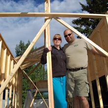 Canadians downsizing and living large in (really) tiny houses