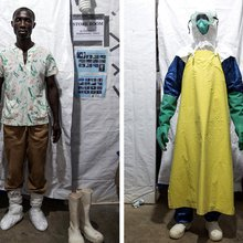 Behind the Mask: The Health-Care Workers at Ebola's Epicenter