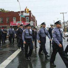 NYPD, Community Gather for Slain Officer's Funeral