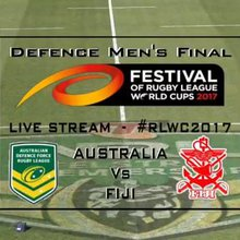 Commentary - Defence Force Mens Rugby League World Cup Final 2017