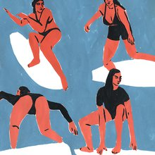 """""""Just Two Women"""" Drawing the Lines of Change in the World of Illustration - Brooklyn Magazine"""