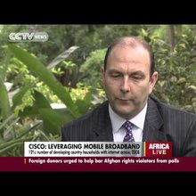 Cisco's VP-Africa talks on Western tech companies adapting to Africa's 'mobile-first' market