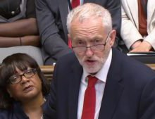 Threadbare government has run out of ideas, says Corbyn