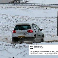 Grampian Police warning: It's affa icy