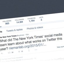 Don't try too hard to please Twitter - and other lessons from The New York Times' social media de...