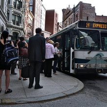 Long commutes on R.I. trains, buses