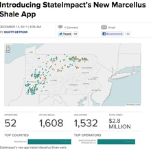 NPR's StateImpact project explores regional topics through focused, data-driven journalism