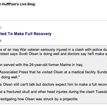 Is the Huffington Post reinventing the art of liveblogging?
