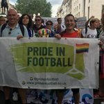Visible and vocal: LGBT football fans