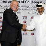 Greg Clarke says FA will promote LGBT inclusion with Qatar and other foreign FAs