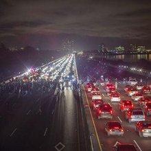 As many as 1,500 protest in Berkeley; arrests skyrocket