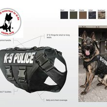 Oklahoma City police dogs to receive ballistic vests