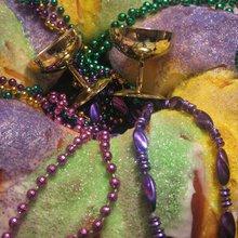 Nothing says Mardi Gras like king cake