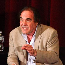 Oliver Stone discusses the use of atomic bombs and his new TV-series at U. of C.