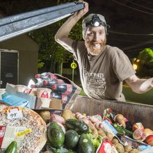 Hungry 'freegans' ignore dumpster diving health warnings