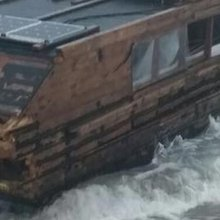 Eco-Adventurer's Houseboat Mysteriously Crosses the Atlantic
