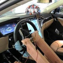 Hackers Turn Tesla Into a Brain-Controlled Car