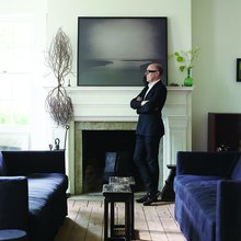 Designer David Mann's Life is a Study in Constrasts, With Two Homes That Are An Excercise in Less...