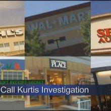 CBS Sacramento Call Kurtis Wal-Mart Gift Receipts *EMMY/NPC AWARD WINNING