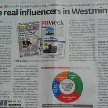 The real influencers in Westminster outnumber lobbyists