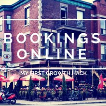 Bookings Online, My First Growth Hack - The Diary Of A Growth Hacker