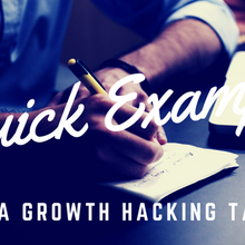 Quick Example Of A Growth Hacking Task | The Diary Of A Growth Hacker