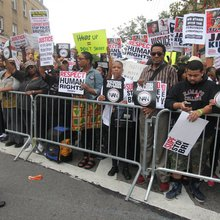 Thousands Rally On Staten Island For Muddled Anti-Police Brutality March