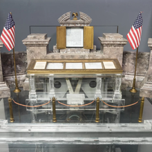Found: A Miniature Working Model of the National Archives Vault