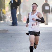 Bryce Verheyen feels right at home winning Maple Leaf half marathon