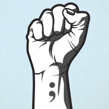Semicolon tattoos aren't a trend. They're a symbol of a silent fight.