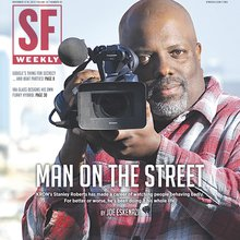 Man on the Street: KRON's Stanley Roberts has Watched People Behaving Badly His Whole Life