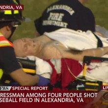 House majority whip shot at Congressional baseball practice