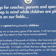 Buffalo Grove Park District Asks Parents To Chill Out