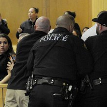 Courtroom chaos: Victim's family disrupts arraignment