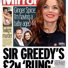 Daily Mirror's Front Page