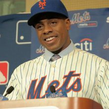 Curtis Granderson formally introduced by Mets