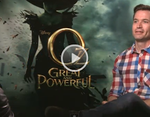 EXCLUSIVE: Oz: The Great and Powerful Cast Interviews