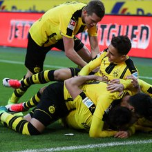 "Guerreiro The Hero In ""The Battle for Borussia"" As Dortmund Comes Back From 2-1 Deficit"
