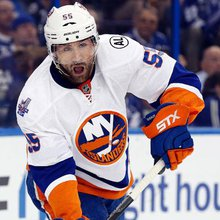 Johnny Boychuk leading by example