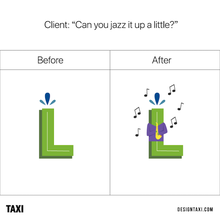 If Designers Went Along With The Vague Requests Commonly Made By Clients... - DesignTAXI.com