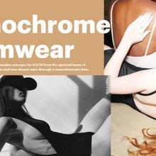 Emerging Trend: Monochrome Swimwear