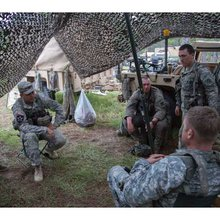 Reporter's first dispatch from Joint Readiness Training Center