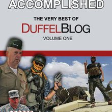 Duffel Blog founder says the popularity of the military satire website was completely accidental