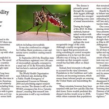 The unpredictability of Zika still presents a danger