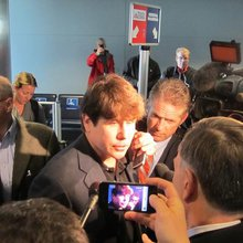 With Rod Blagojevich on the plane from Chicago to Denver - and a federal prison