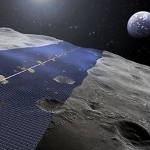 Solar Power from the Moon