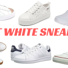 BEST WHITE SNEAKERS 2017