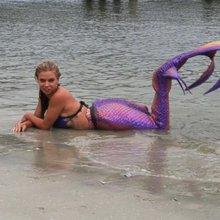 Video: Meet The Real Little Mermaid