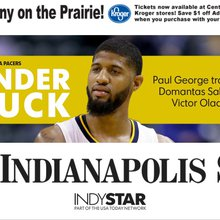 THUNDER STRUCK: Indiana's Paul George traded to OKC